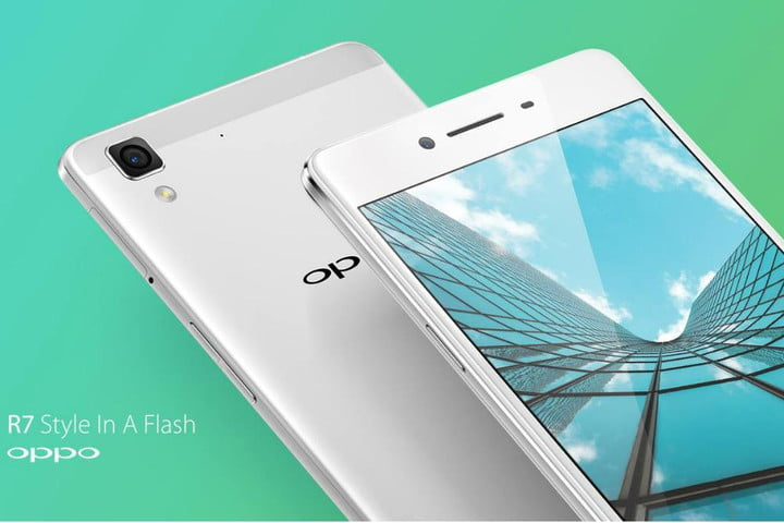 oppo curved bezel free screen phone r7 front rear