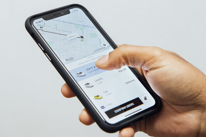 Requesting an Uber ride | Should you buy a car?