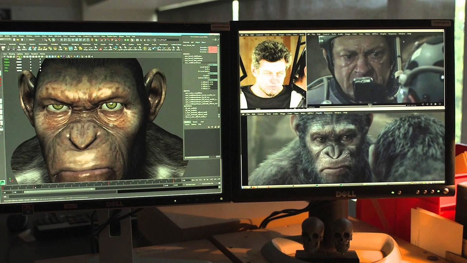 Oscars Effects Dawn of the Planet of the Apes