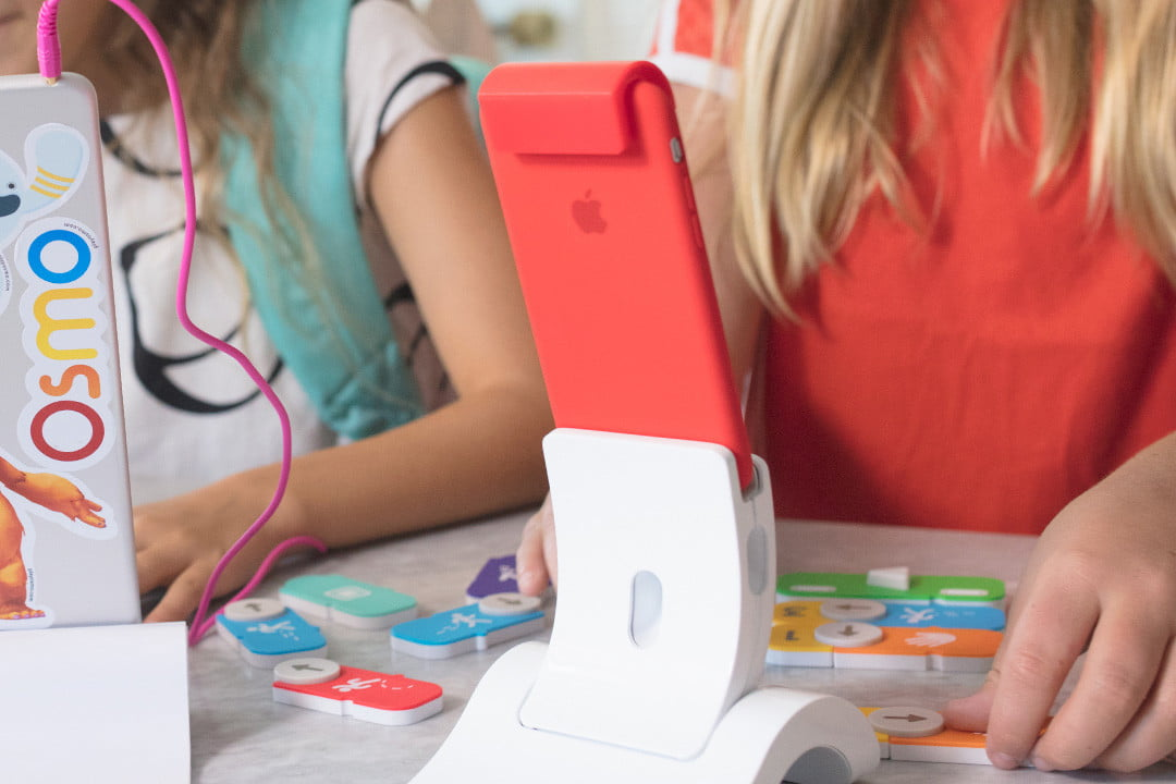 Osmo iphone base pink back