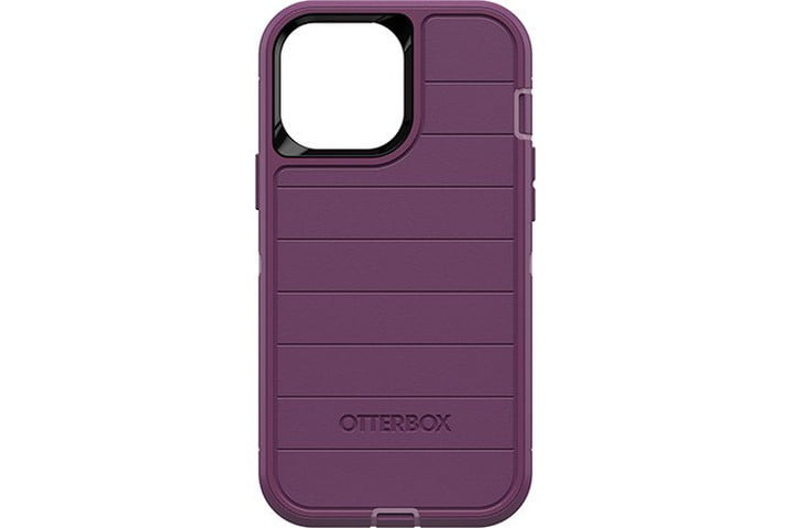 OtterBox Defender Series Case in purple for the iPhone 13 Pro Max.