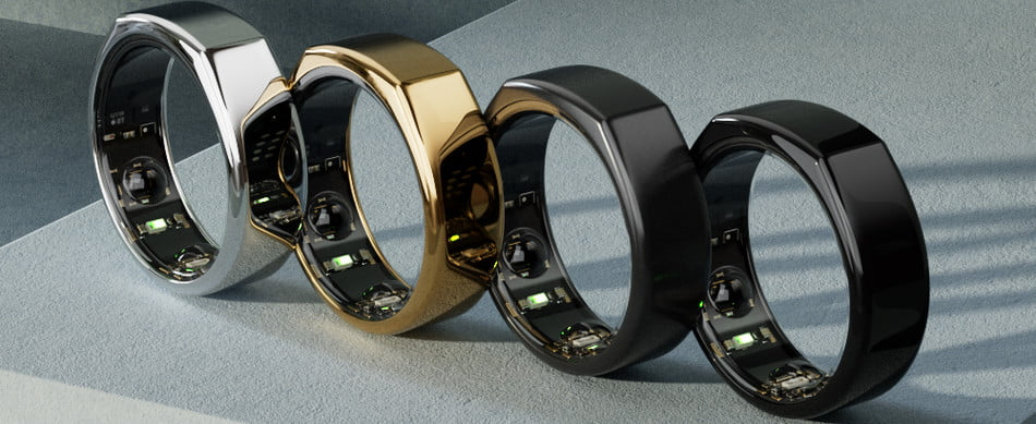 Oura Ring colors.