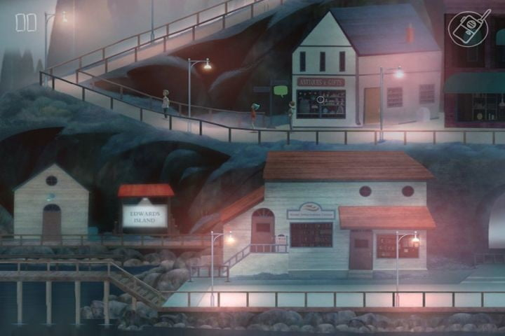Oxenfree game.