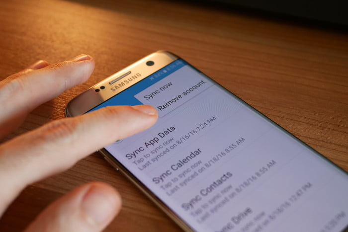 how to reset a galaxy s7 edge settings remove account