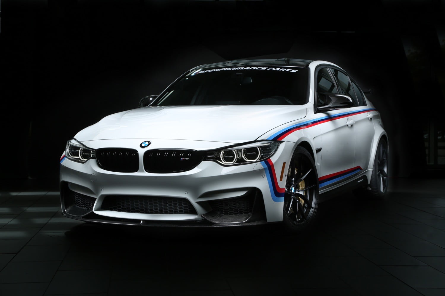 BMW M3 with M Performance Parts