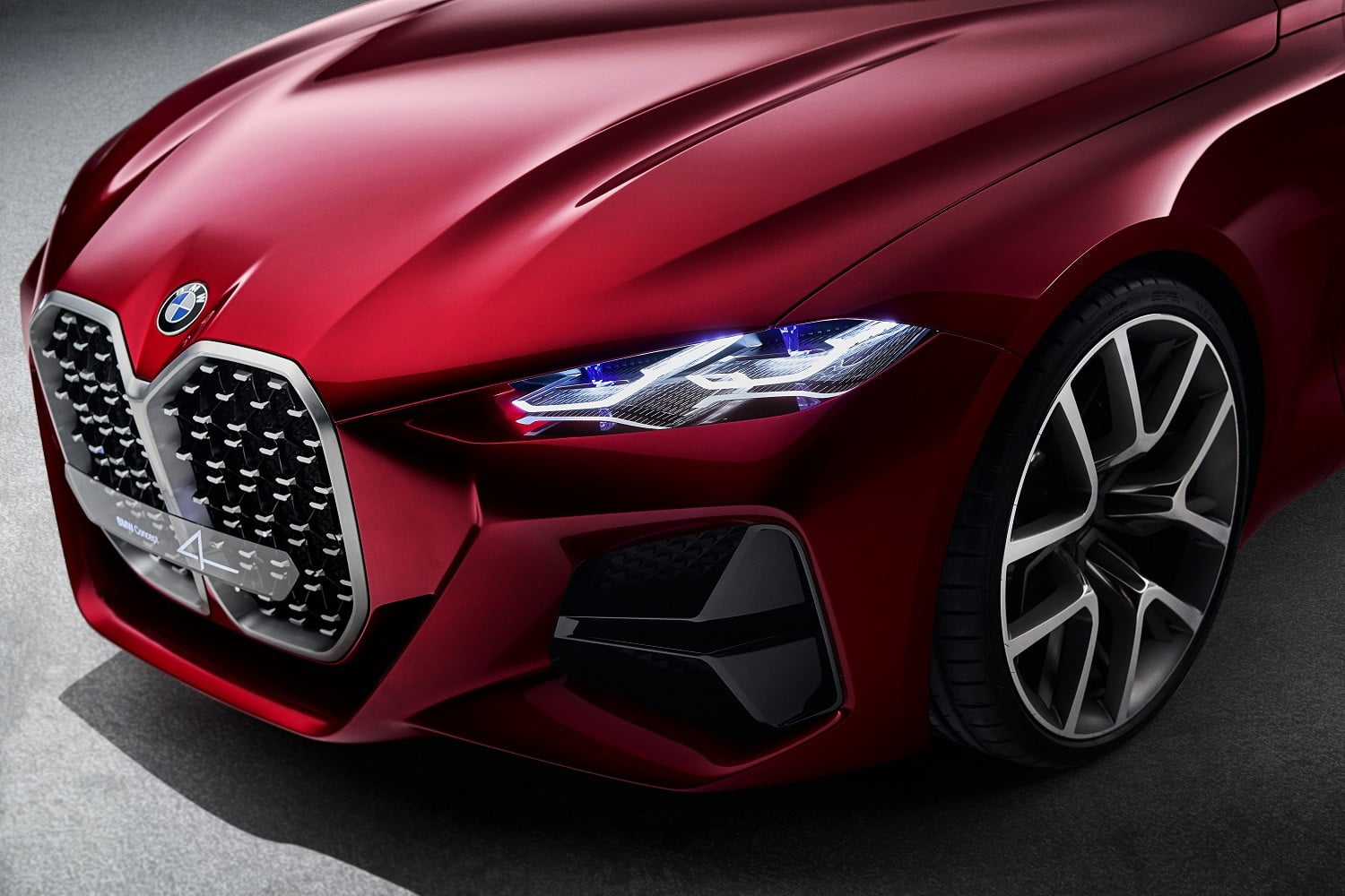 bmw concept 4 previews the 2021 series coupe at 2019 frankfurt auto show p90364645 highres