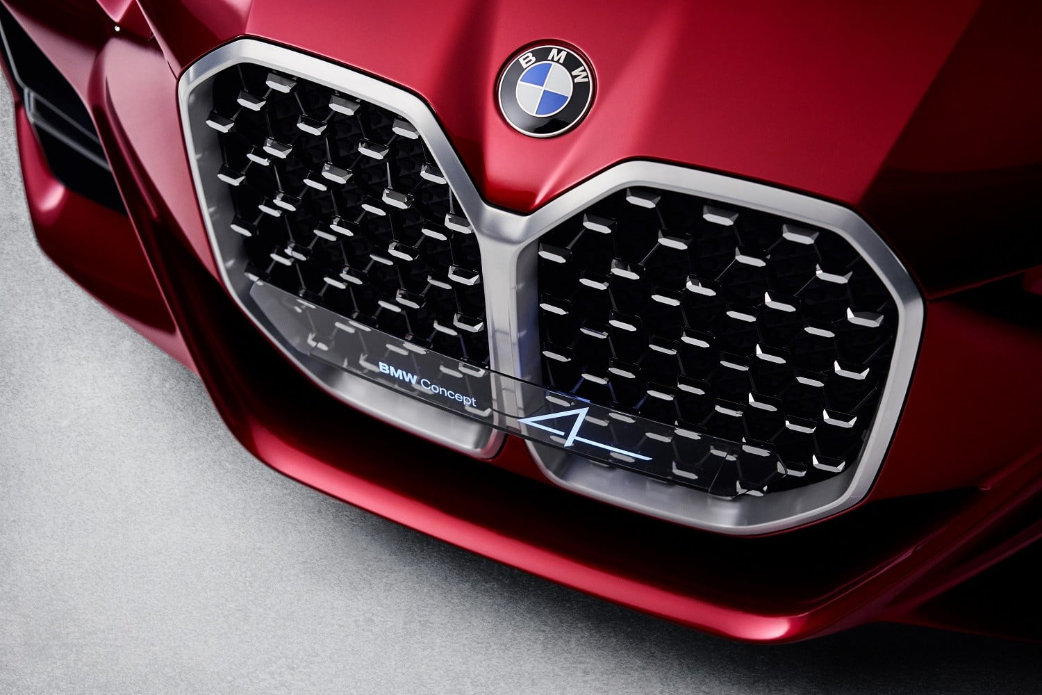 bmw concept 4 previews the 2021 series coupe at 2019 frankfurt auto show p90364650 highres