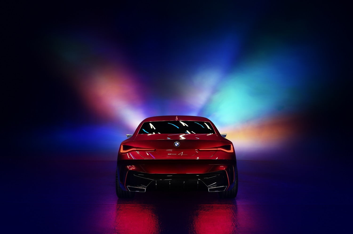 bmw concept 4 previews the 2021 series coupe at 2019 frankfurt auto show p90364652 highres