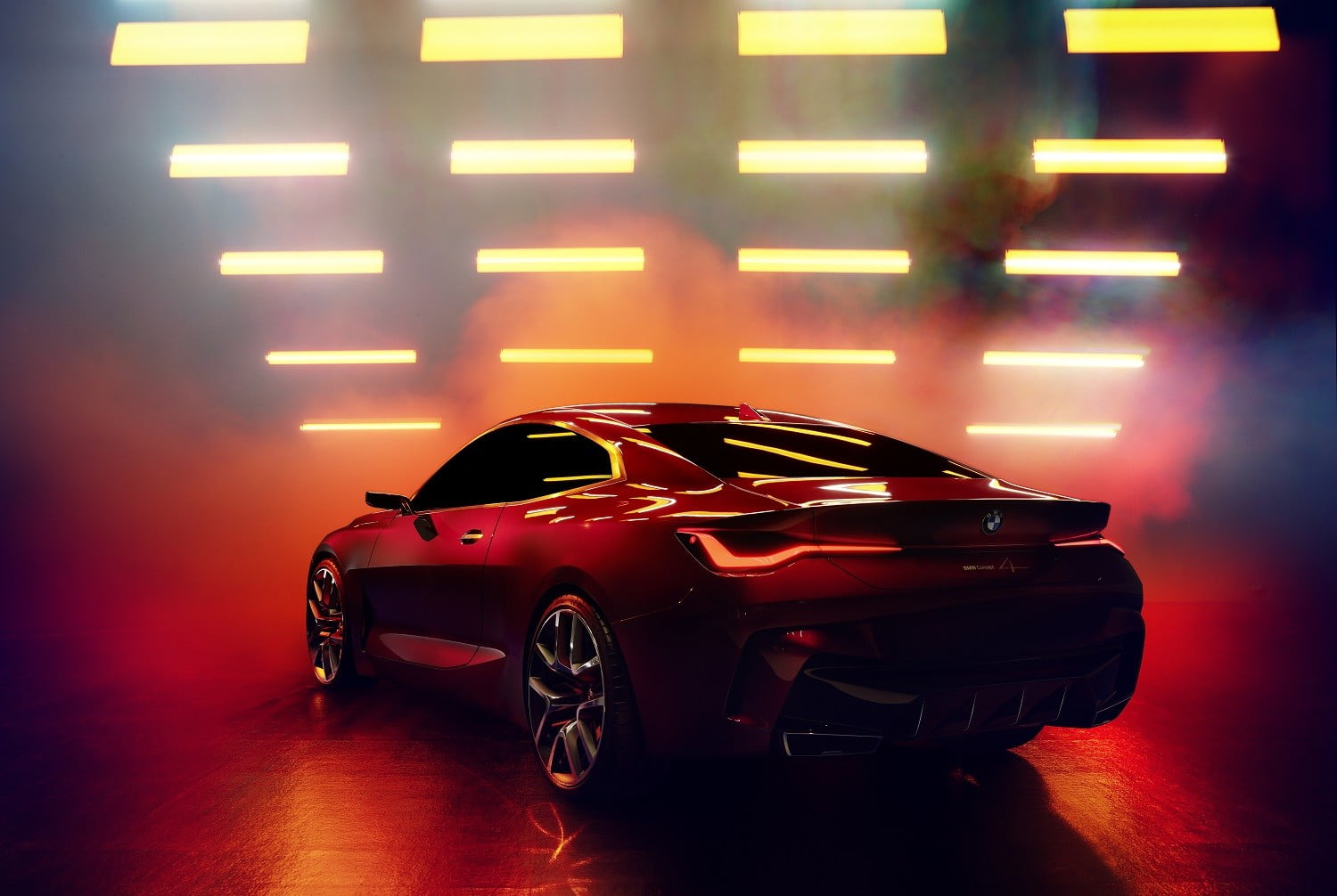 bmw concept 4 previews the 2021 series coupe at 2019 frankfurt auto show p90364661 highres