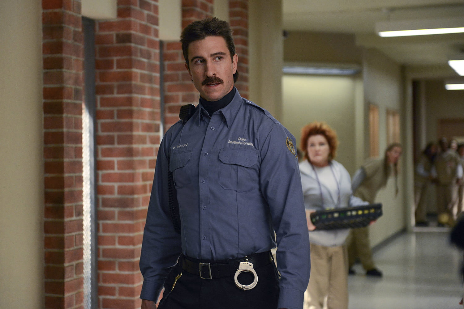 most hated tv characters pablo schreiber as george pornstache mendez orange is the new black
