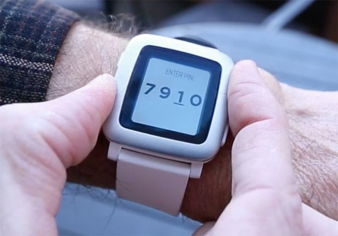pebble pagare watch strap contactless payment 1