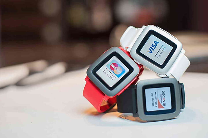 pebble new product countdown pagare  nfc enabled watch strap for