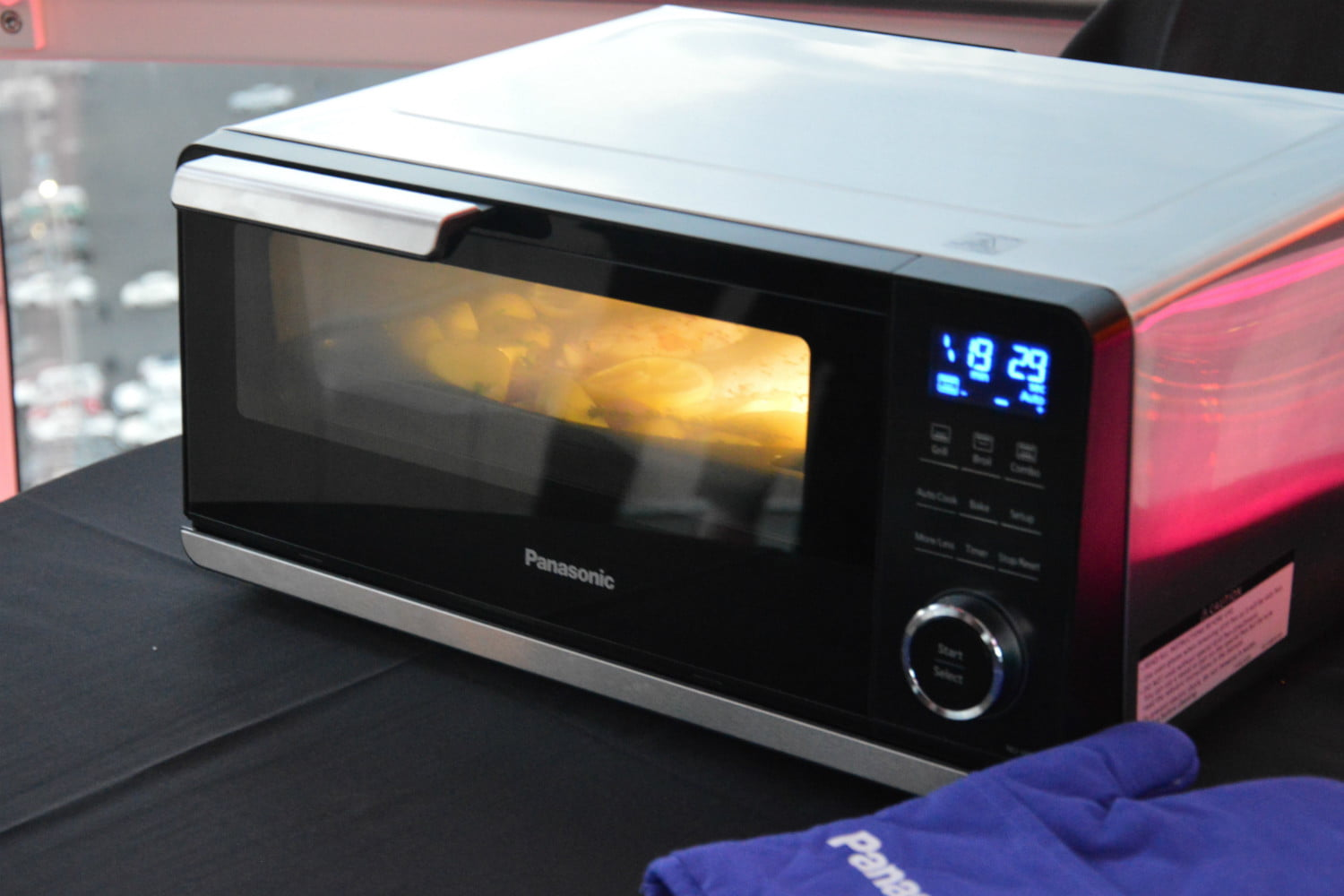 panasonic countertop induction oven ces 2017 3