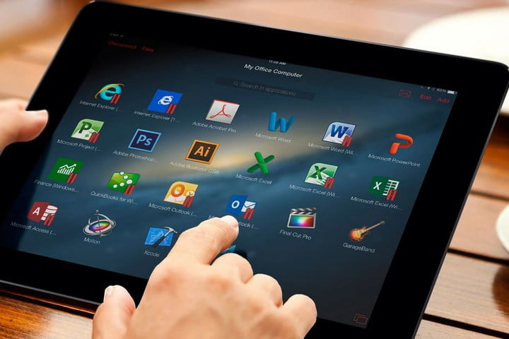 parallels access now lets you your pc or mac using an iphone android device