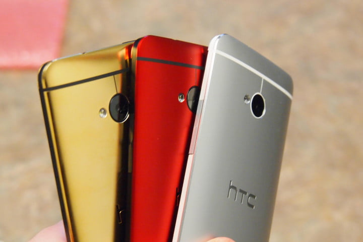 colorful htc octa core smartphone leake gold red and silver one