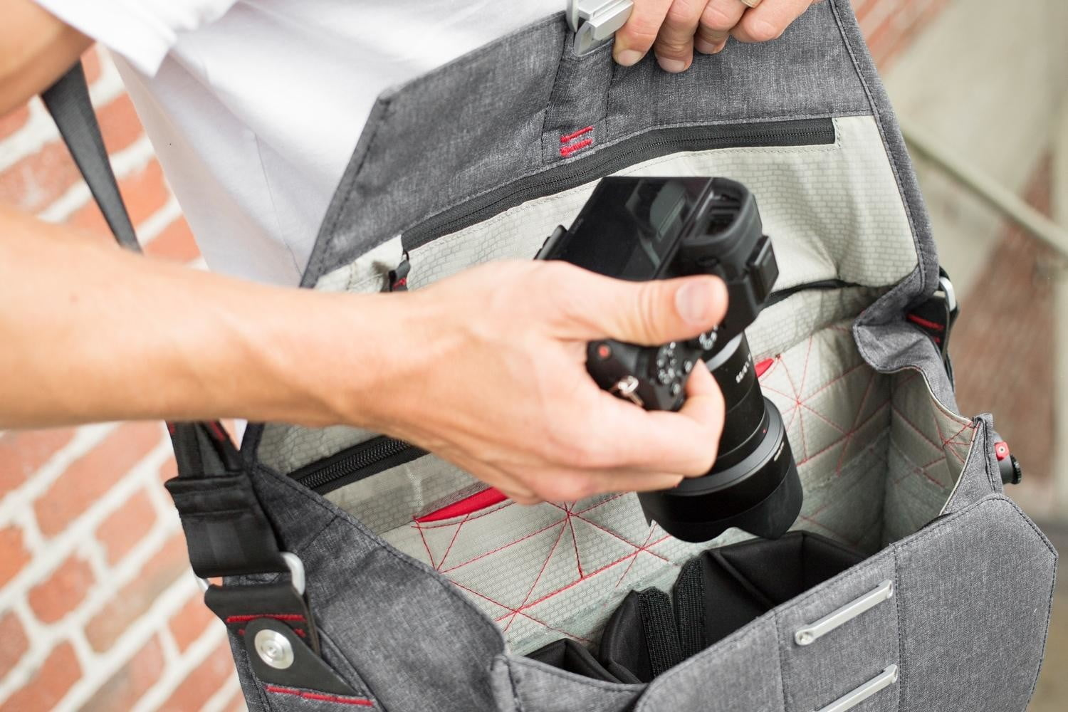 this photography bag suits your everyday needs with or without a camera peak design messenger 11