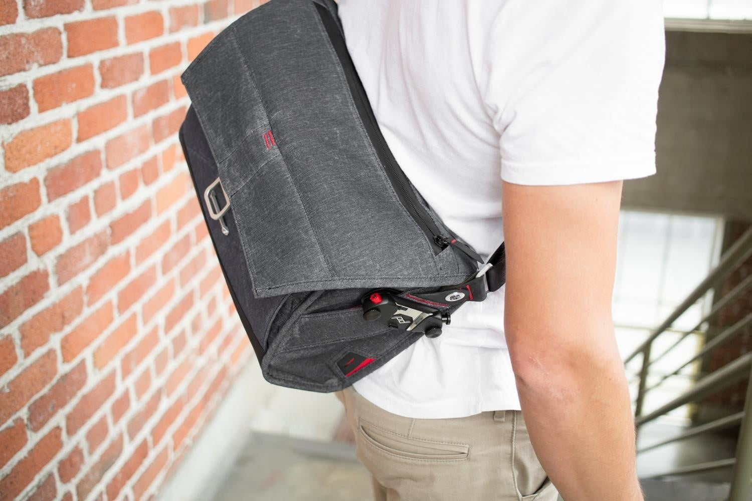 this photography bag suits your everyday needs with or without a camera peak design messenger 12