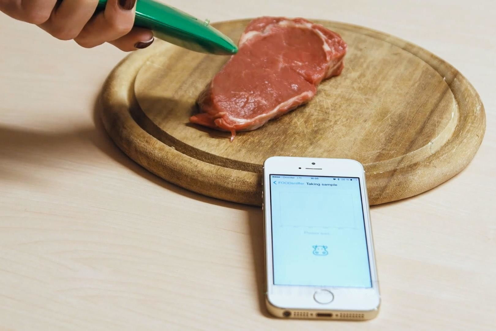 foodsniffer analyzes chemicals to detect food spoilage peres 1