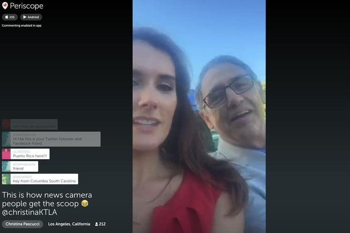 periscopes new couchmode feature for desktop lets you explore random streams fast periscope couch mode