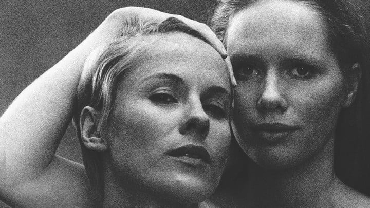 Liv Ullman and Bibi Andersson from Persona