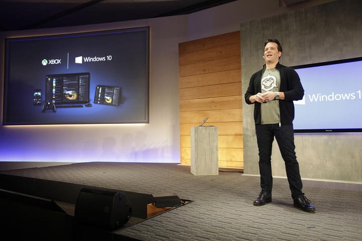 xbox one upgradable vision phil spencer windows 10