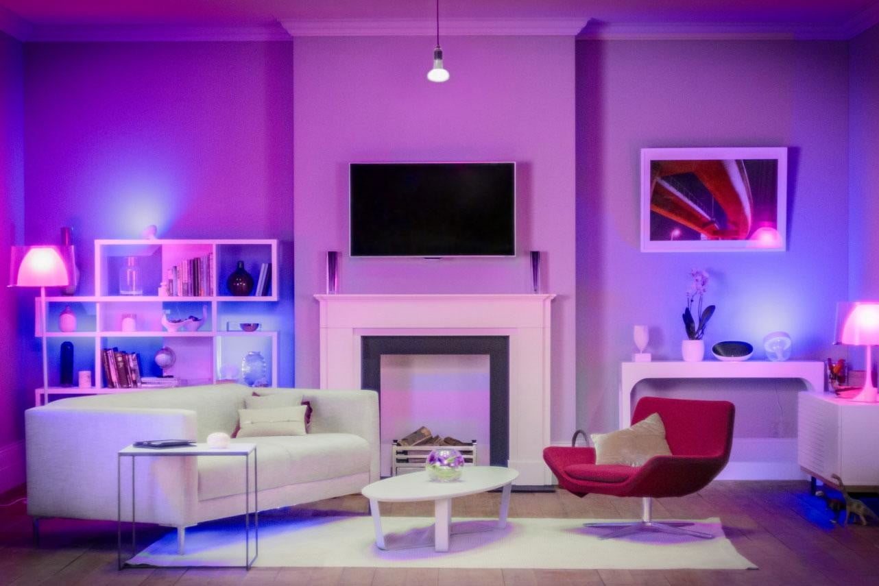 smart lights can elevate your mood when working from home philips hue connected bulb starter pack 8