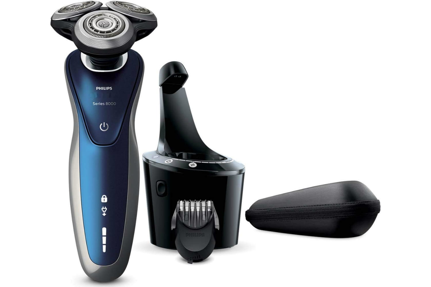 amazon trims philips norelco 8900 wet and dry electric shaver with smartclean  edition s8950 90 750x500