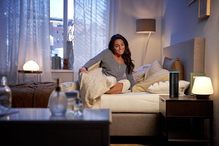six months living in the smart apartment philips hue white ambiance mit amazon alexa