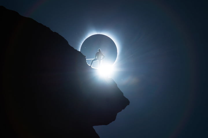Ted Hesser Best Solar Eclipse Photo of 2017