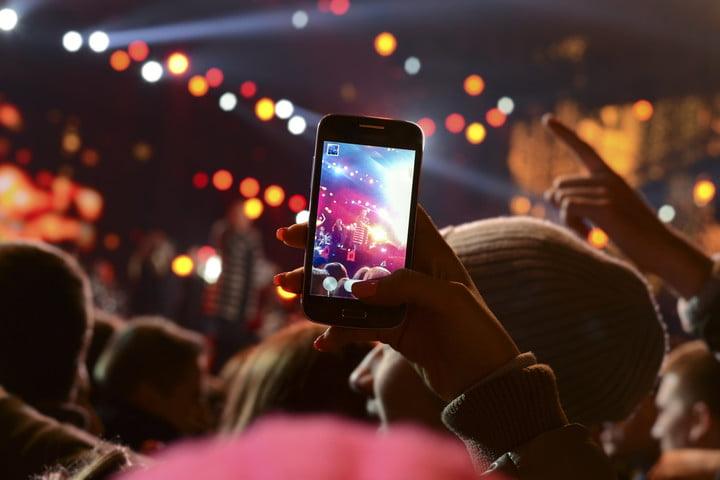 facebook recommended events photographing a concert