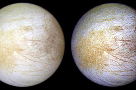 Hubble spots persistent water vapor on Europa — but only in one hemisphere