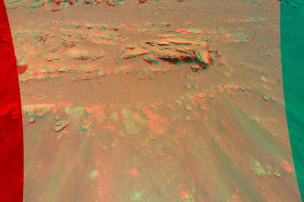 See the surface of Mars in 3D thanks to the Ingenuity helicopter
