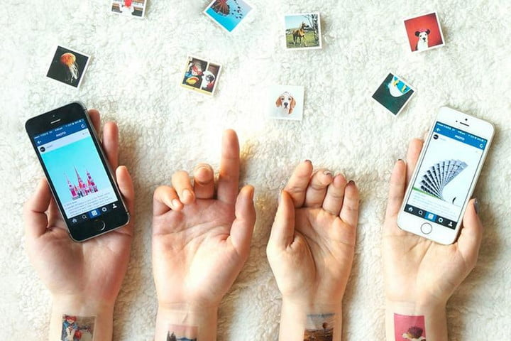 use body share instagram photos picattoo temporary tattoos