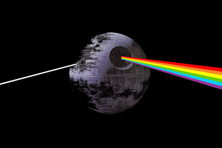 star wars force awakens syncs with dark side of the moon pink floyd