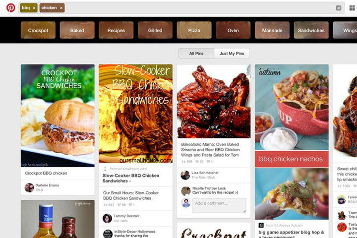 pinterest brings guided search desktop for web