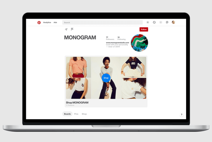 pinterest visual search browser business