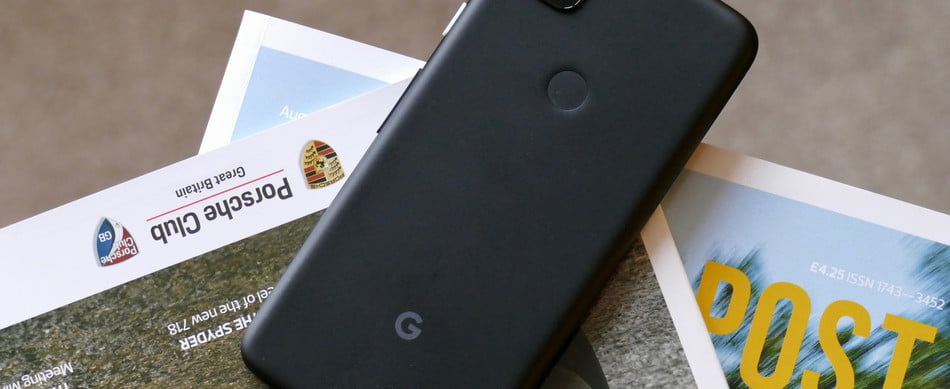 Google Pixel from the back.