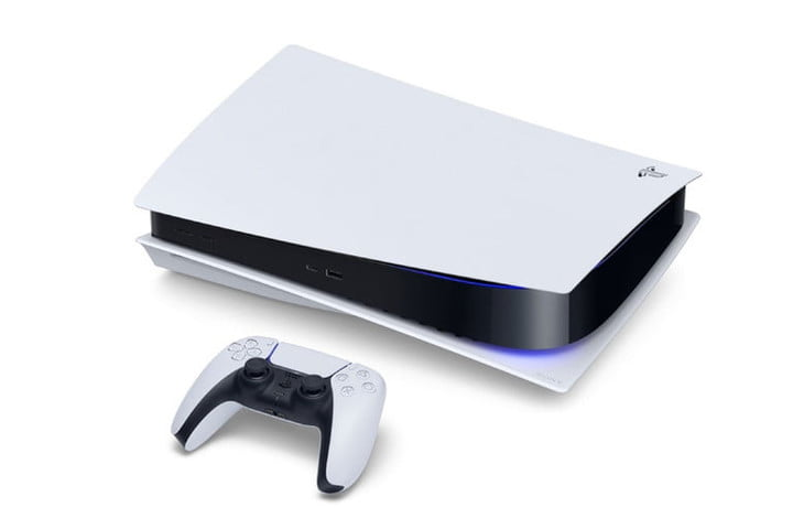 PlayStation 5 side view