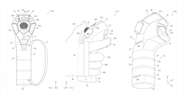 playstation vr motion controller patents patent