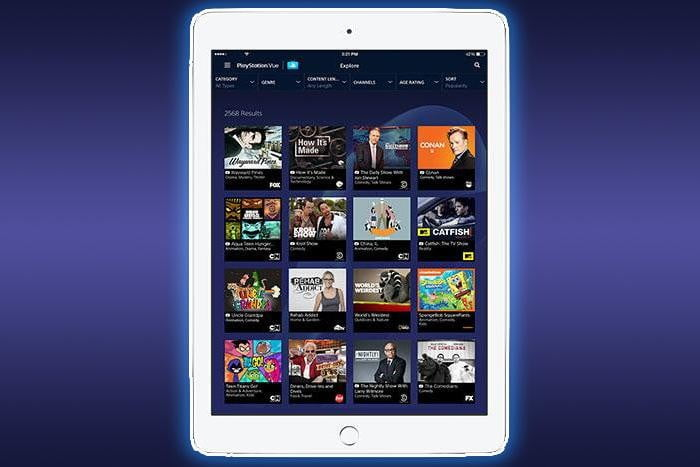 playstation vue adds slim packages at 30 per month ipad featured
