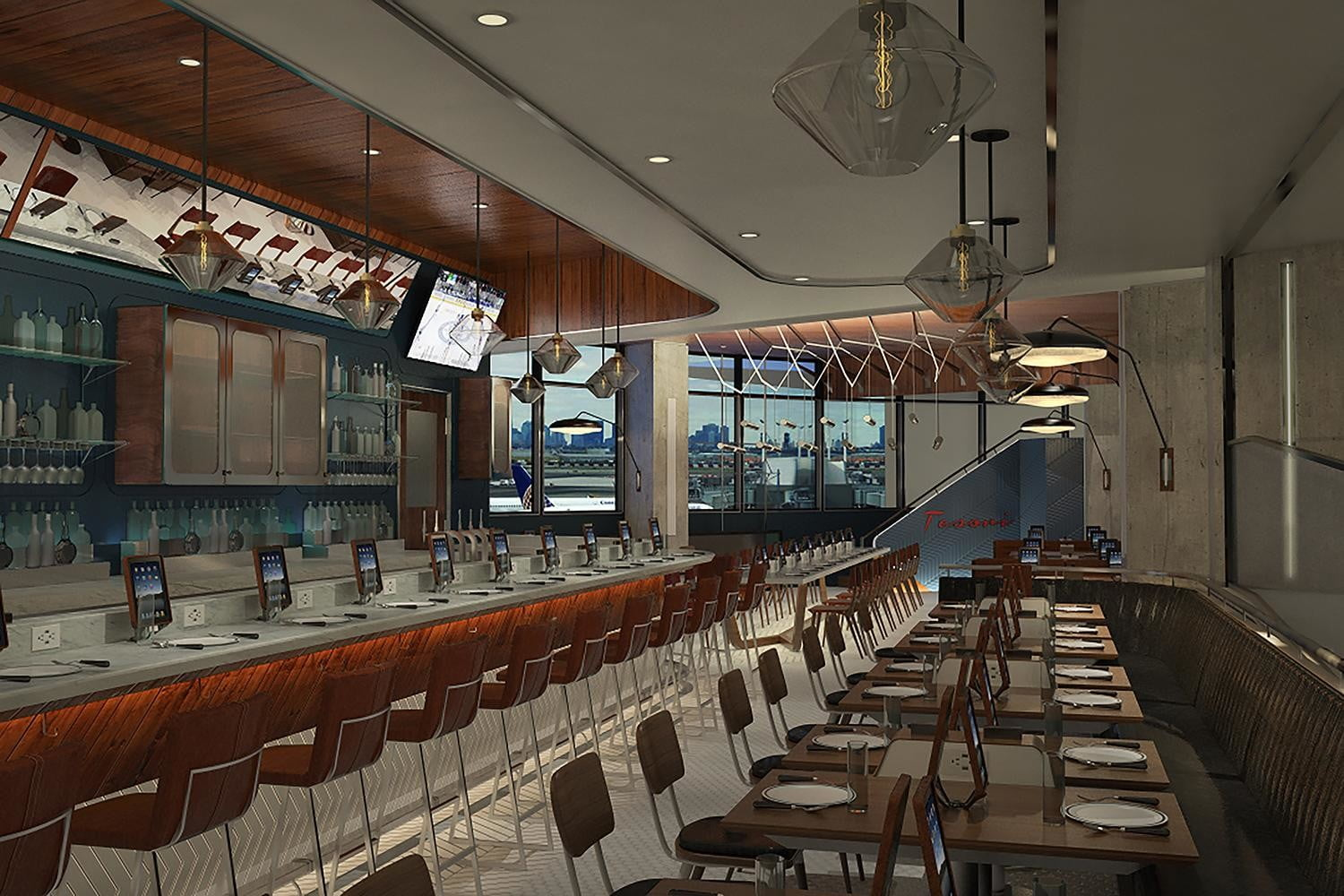 ipads are replacing waiters in airport restaurants pld c1 f1 tesori view1  low res print anyway