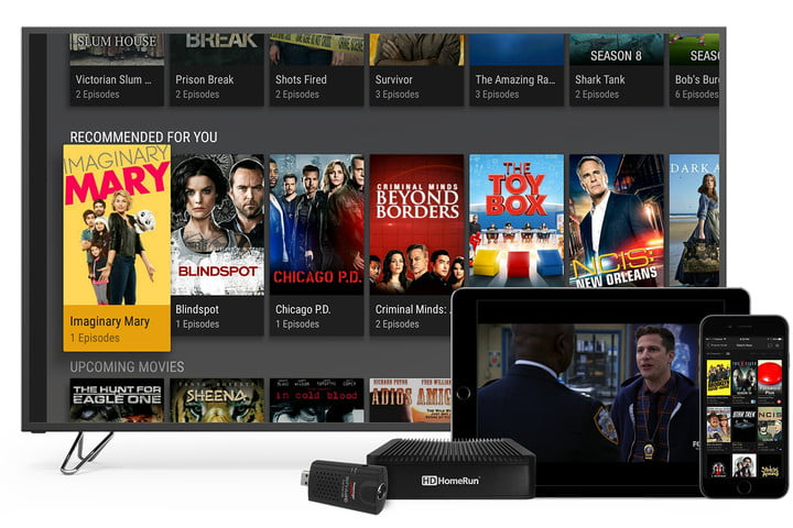 plex launches live tv watching and recording header