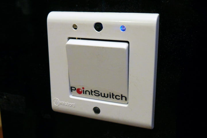 pointgrabs gesture controlled home automation system point switch