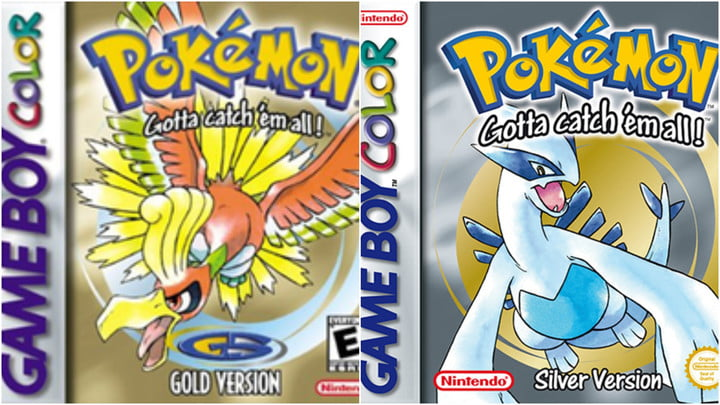 Pokemon gold and silver