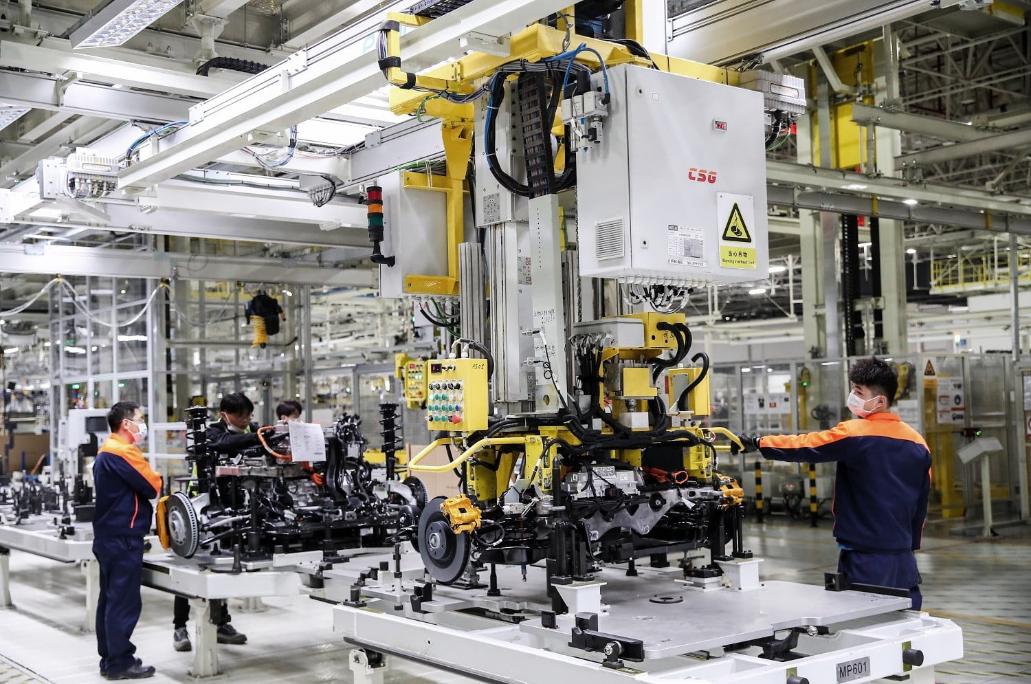 polestar begins production of the electric 2 in china luqiao factory 3