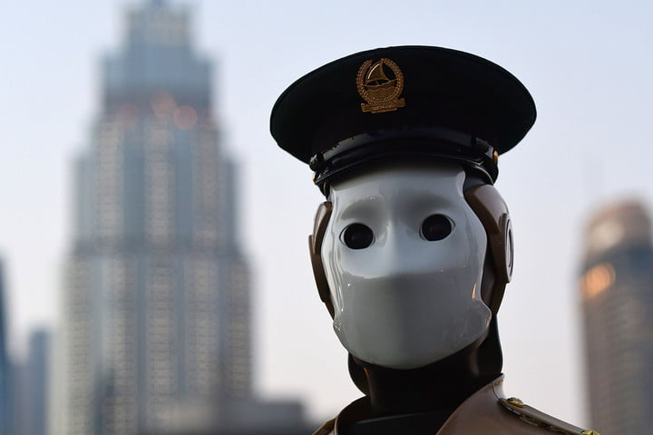 Kuna System Interview Home AI police robot