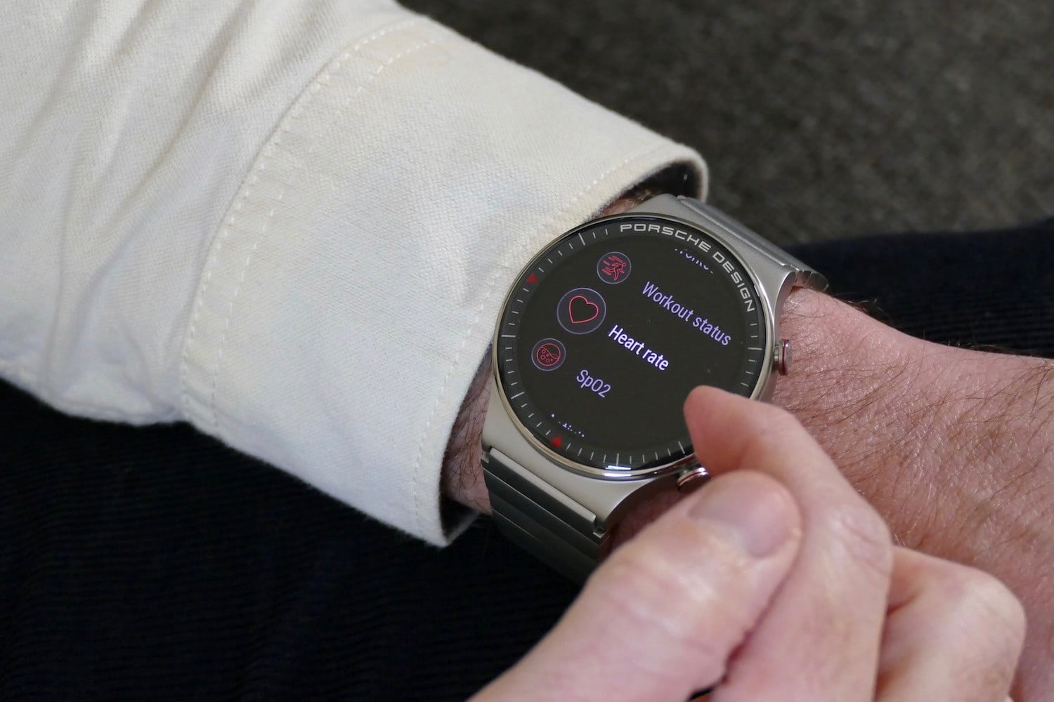 porsche design huawei watch gt2 product name hands on features price photos release date heart rate