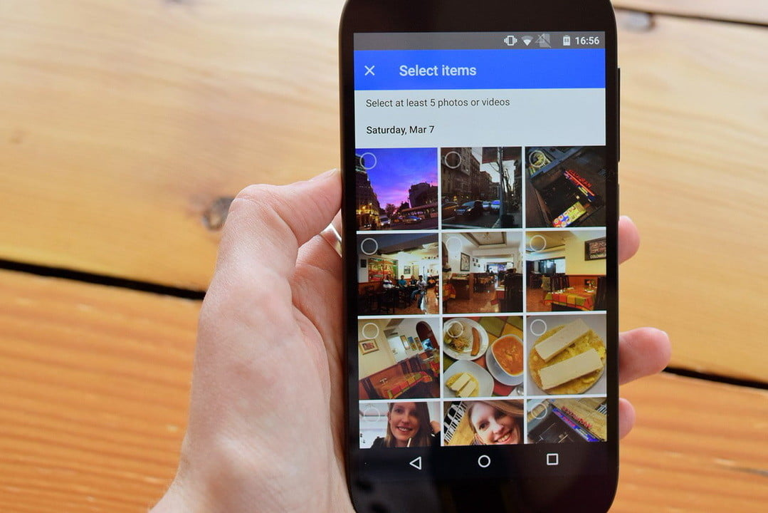 google photos app news  hands on