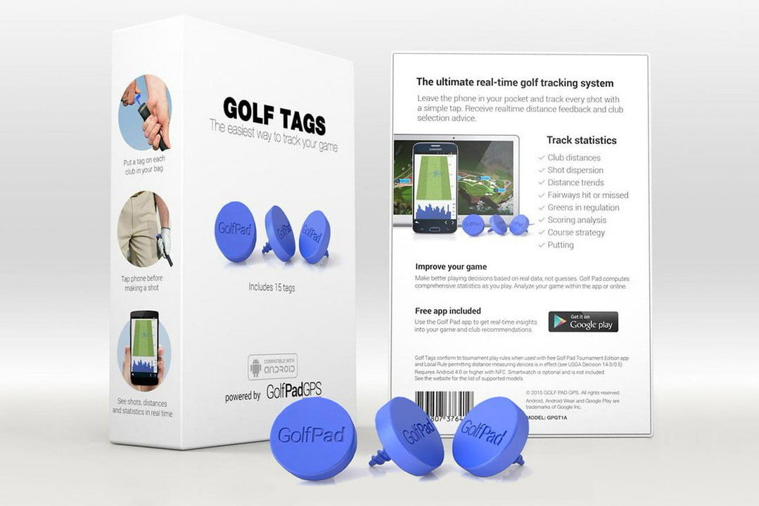 make your golf clubs smart with these little tags  the ultimate real time tracking system
