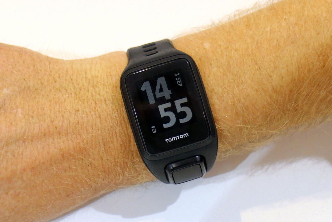the tomtom spark gps fitness watch lets you listen to your music without phone tom cardio